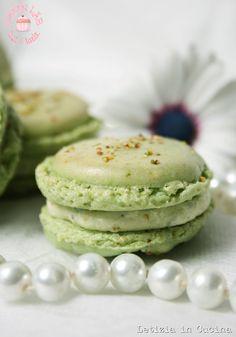 Macarons ai pistacchi