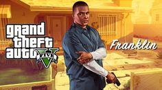 Franklin GTA 5 Logo   GTA V / Grand Theft Auto 5 / GTA Five - Michael, Franklin, Trevor ...