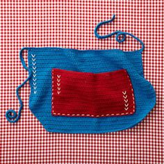 4th of July Apron - free 4th of July crochet patterns