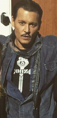 New photo!!! February 2017 Johnny Depp