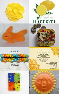 Oranges and Lemons by Phoenix Smiles on Etsy--Pinned with TreasuryPin.com