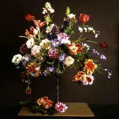 Black label zijden bloemen en bloemstukken