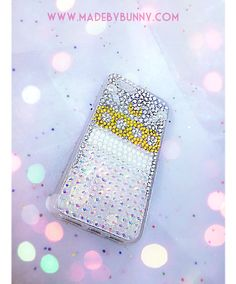 PRINCESS SERENITY | Sailor Moon Crystal | Bedazzled iPhone 5s Case | USAGI / SERENA | Sparkle Rhinestones & Pearls · MADE BY BUNNY · Online Store Powered by Storenvy