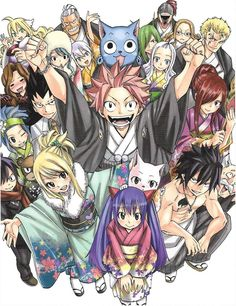Fairy Tail Guild members / Hero Mashima