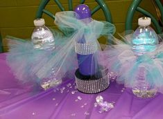 Diamonds are a girls best friend baby shower party! See more party ideas at CatchMyParty.com!
