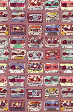 Music Poster Ideas Illustration Inspiration Ideas For 2019 Iphone Wallpaper 90s, Iphone Wallpaper Vintage Retro, Wallpaper S, Pattern Wallpaper, Vintage Backgrounds, Phone Backgrounds, Cool Wallpapers For Phones, Cute Wallpapers, Hipster Vintage