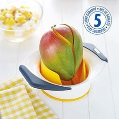 Amazon.com: ZYLISS 3-in-1 Mango Slicer, Peeler and Pit Remover Tool: Kitchen & Dining