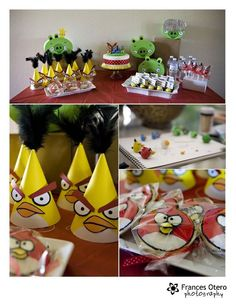 Angry Birds Party!---thought is bday is 5 months away, Grant is requesting an Angry Birds party.