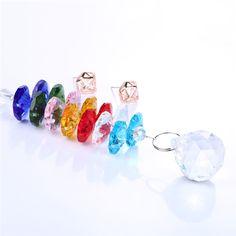 Glass Crystal Pendulum Lamp Prisms  Price: 9.95 & FREE Shipping  #hashtag4 Crystal Pendulum, Glass Crystal, Chakra Crystals, Garden Supplies, Suncatchers, Decoration, Cool Stuff, Feng Shui, Agate