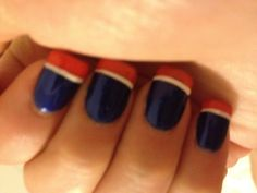 Bronco nails - maybe on my toes