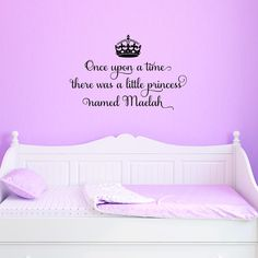 Idea for quote....[crown] Once upon a time there was a little princess named Gabriella