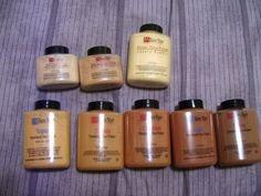 All About Ben Nye Translucent Luxury Powders -   (Banana, Beige Suede, Topaz, Sienna)
