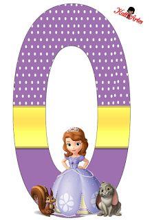 Alfabeto de Princesa Sofia con Fondo de Puntos Blancos. Princess Sofia Birthday, Sofia The First Birthday Party, Princess Party, 5th Birthday, Princes Sofia, Disney Alphabet, Birthday Letters, Alphabet Design, Letters And Numbers