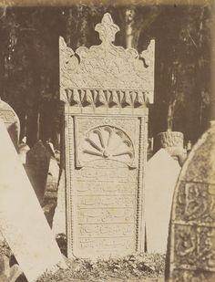 Mezar Taşı / Pascal Sébah