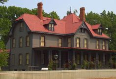 James A. Garfield's Home Lake County, Ohio. Garfield became the first candidate to actively campaign for himself. He would meet people on the porch and speak to the people who came to see where he lived.