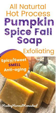 Homemade Shampoo, Homemade Skin Care, Homemade Beauty Products, Handmade Soap Recipes, Soap Making Recipes, Skin Routine, Pumpkin Spice, Making Ideas, Anti Aging