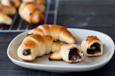 homemade chocolate croissants!