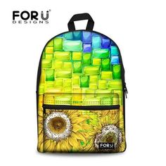 Unique Trendy 2016 Colorful Large-Capacity Quality Backpack 12 Colors