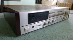 Vintage Denon DRA-550 AM FM Stereo Receiver Parts Repair #Denon