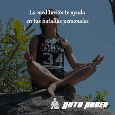 #autopoder #musicapositiva #ritmopositivo #salud #dinero #amor #vida #leydeatraccion #pnl #meditacion #batalla #personal #ayuda  La meditación te ayuda en tus batallas personales