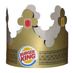 I always begged my mom & dad for a BK Crown! I think I might go to BK tomorrow just to get one, who's with me?