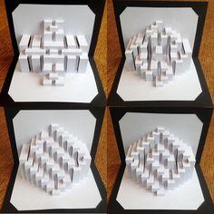 DIY Templates UHS Intermediate Starter Kit Kirigami by Ullagami Pop Up, Nirmana 3d, Origami Architecture, Tropical Architecture, Kirigami Templates, Deep Shadow Box, Libros Pop-up, Paper Pop, Up Book