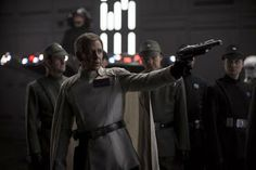 Just released Star Wars photos include scenes that didn't quite make the cut, offering new details about the Rogue One reshoots. Rogue One Star Wars, Grand Moff Tarkin, Director Krennic, Imperial Officer, Scene Image, Love Stars, War Machine, Star Wars Art, Star Trek
