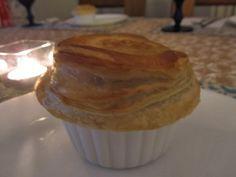 Aromas com Amor: Torta invertida de frango com cogumelos marron e t...