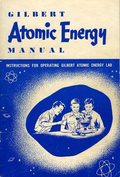 Curiosos juguetes con componentes radiactivos de los años50.