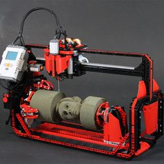 Arthur Sacek - This guy has made some crazy impressive lego machines Cnc Router Plans, Diy Cnc Router, Cnc Lathe, Woodworking Garage, Lathe Tools, Cnc Projects, Arduino Projects, Backyard Projects, Arduino Cnc