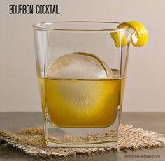 Bourbon Cocktail @FoodBlogs