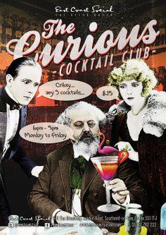 East Coast Social - Coctail Club A0 Poster