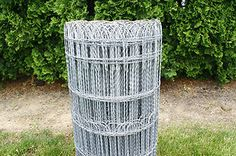looped Fencing | Ornamental Loop Fence Decorative Woven Wire Fencing Galvanized Metal ...