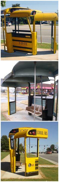 Paradas de autobús curiosas