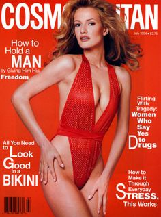 Karen Mulder by Francesco Scavullo for Cosmopolitan, July 1994 V Magazine, Fashion Magazine Cover, Fashion Cover, Magazine Covers, Claudia Schiffer, Heidi Klum, Natalia Vodianova, Cindy Crawford, Top Models