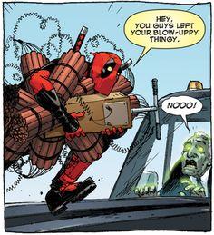 why I love comics  Why I love Deadpool and his comics.