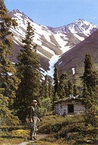 Alone in the Wilderness, the story of Dick Proenneke | upper Twin Lakes | Lake Clark Natl Park, AK