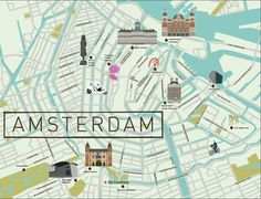 Amsterdam Map - See-Creative
