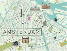 Amsterdam Map - See-Creative