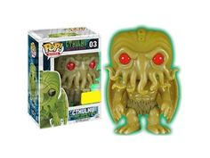 Cthulhu Funko POP Vinyl Figure Cthulhu, Glow-In-The-Dark Exclusive