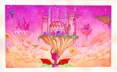 +Crystal Palace+ by Tankero on DeviantArt Spyro And Cynder, Spyro The Dragon, Gifts For My Sister, Cartoon Games, Crystal Palace, Game Character, Pastel Colors, Game Art, Amazing Art