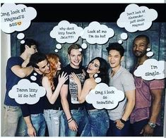Shadowhunters Malec, Shadowhunters The Mortal Instruments, Clace, Alec Lightwood, Jace Wayland, Clary Et Jace, Cassandra Clare Books, City Of Bones, The Infernal Devices