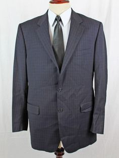Zanieri Blazer Sport Coat 42R Plaid 2 Button made in Italy Angelico Super 100s #Zanieri #TwoButton