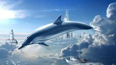 Dolphin Fantasy Art