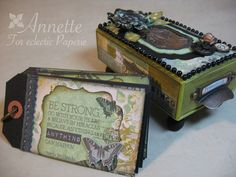 Annette's Creative Journey: Eclectic Paperie Post - Graphic 45 Matchbox