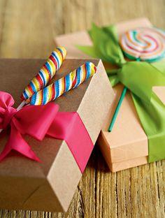 Embalagem para o presente de Natal