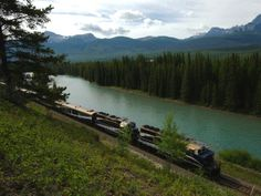 The Mountaineer currently runs along six routes spanning Western Canada, and one that travels through Seattle. #trains