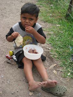 nourishment in Honduras.