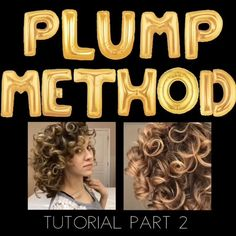 The Plump Method for Big and Bouncy Curls Ailine❤️ ailinemeyer h a i r More and more women join the Curly Girl Method Club. The plump-styling technique can turn your dull, frizzy hair into bouncy and fluffy curls. This routine is very easy and reward Curly Hair Routine, Curly Hair Tips, Curly Hair Care, Frizzy Hair, Curly Hair Styles, Curly Hair Plopping, Style Curly Hair, Wet Hair Curls, Curly Perm