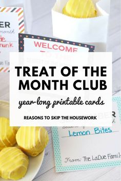 Treat of the Month C
